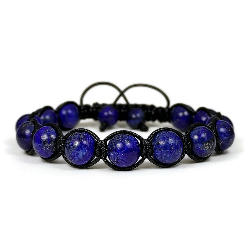 Bosphorus Collection Lapis Shamballa Bracelet