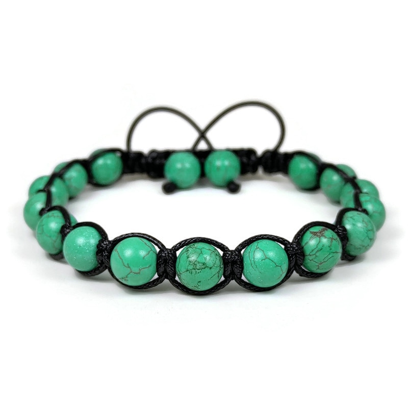 Bosphorus Collection Turquoise Shamballa Bracelet